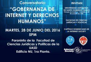 """""""GOBERNANZA DE INTERNET Y DERECHOS HUMANOS"""""""